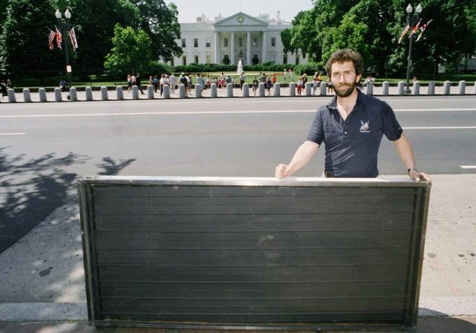 White House Solar Panel 1991