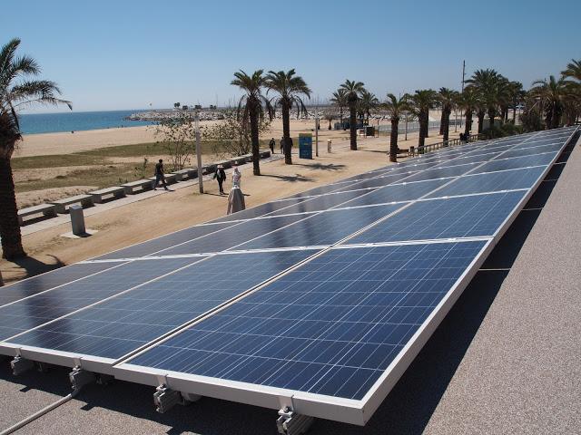Conergy grid parity pilot project bio restaurant Barcelona Spain_2